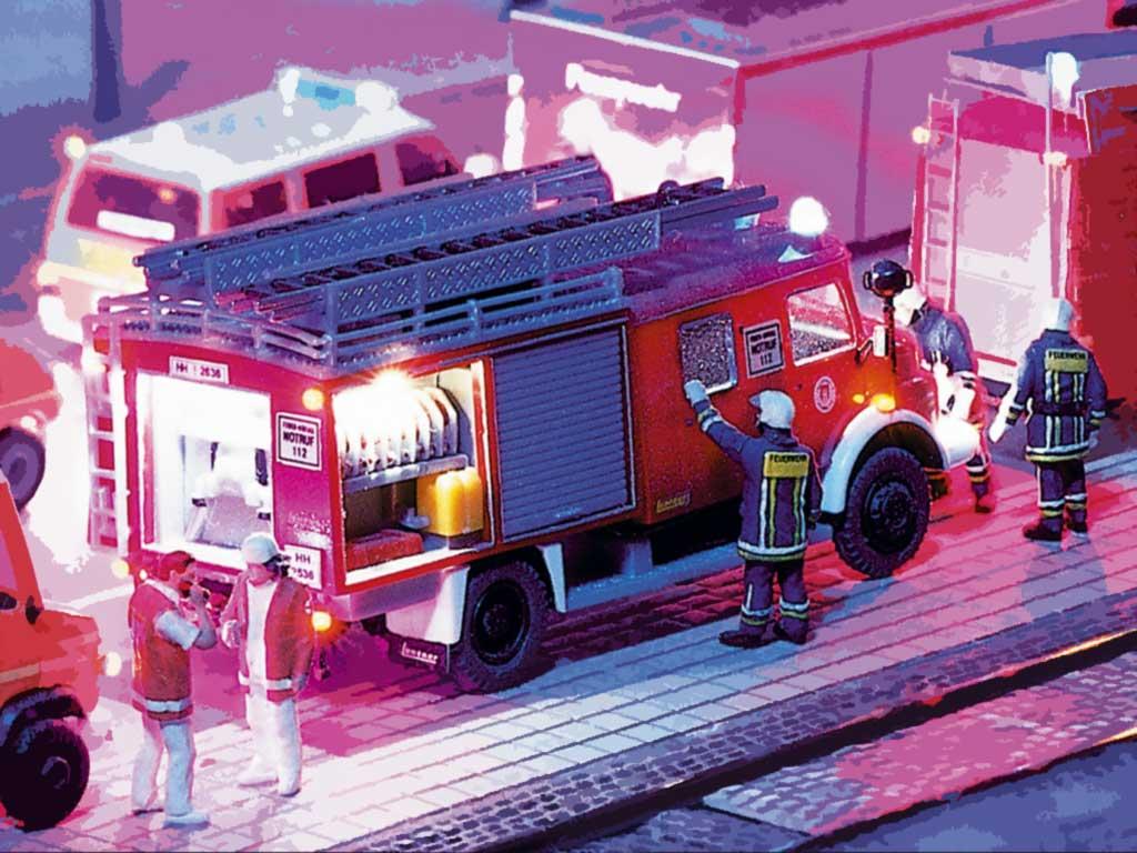 Echte Feuerwehr