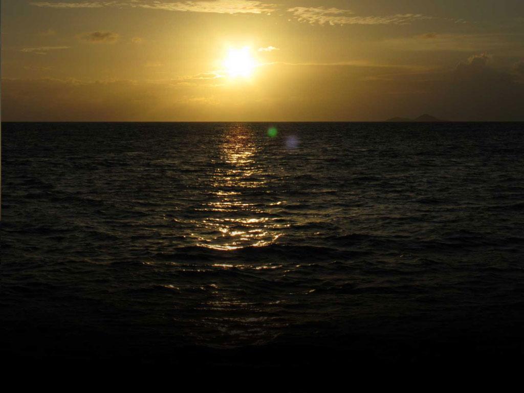 Mein twitter bildschirm hintergrund sonnenuntergang auf den