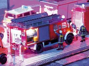 Echter Feuerwehr-Einsatz