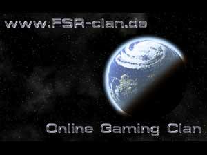 FSR Online Gaming Clan - Logo-Entwurf