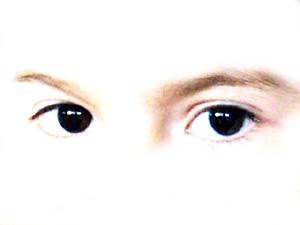 Kinderaugen (die Augenfarbe ist echt!)